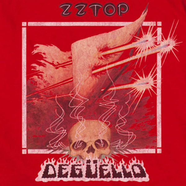 ZZ TOP Impressive Long Sleeve T-Shirt, Deguello Album Cover