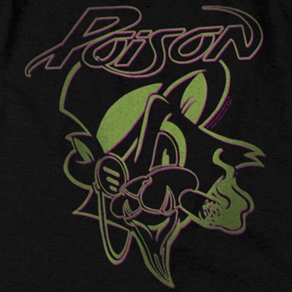POISON Impressive T-Shirt, Smoking Cat