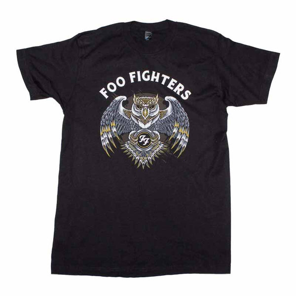 FOO FIGHTERS Top Notch T-Shirt, Owl