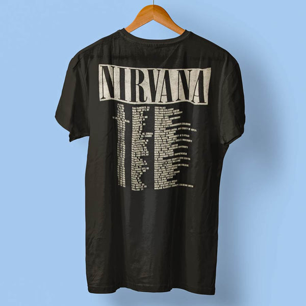 NIRVANA Elite T-Shirt, In Utero Tour Back