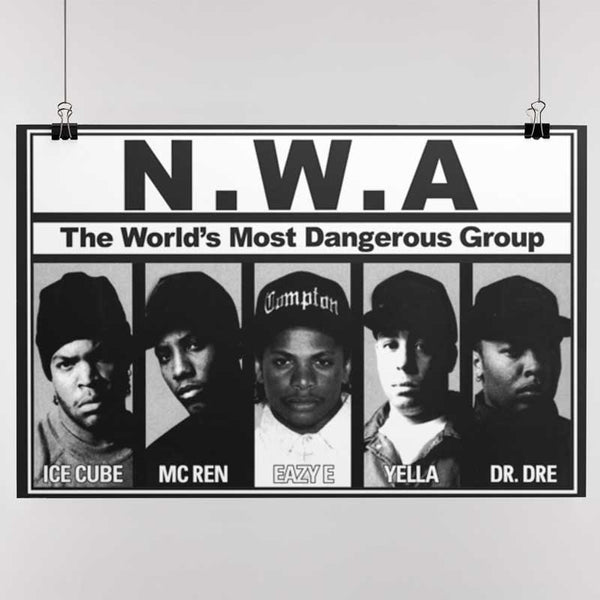 N.W.A Gorgeous Poster, Members