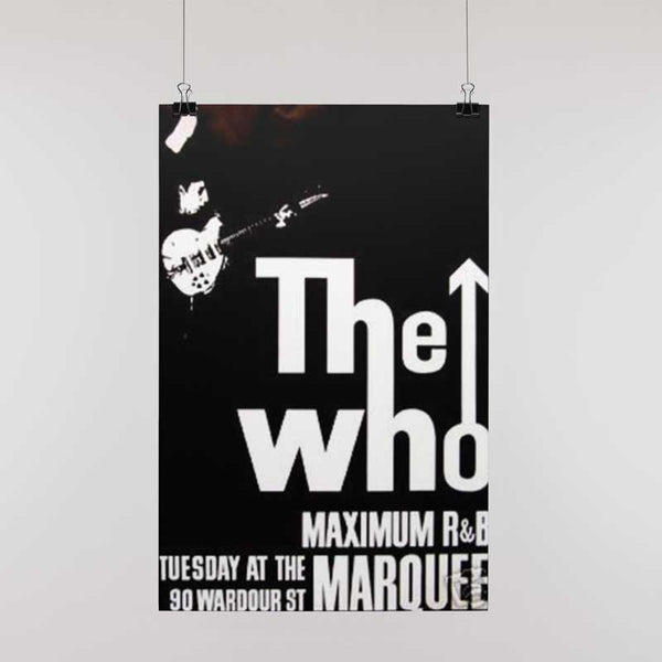 THE WHO Gorgeous Poster, The Show