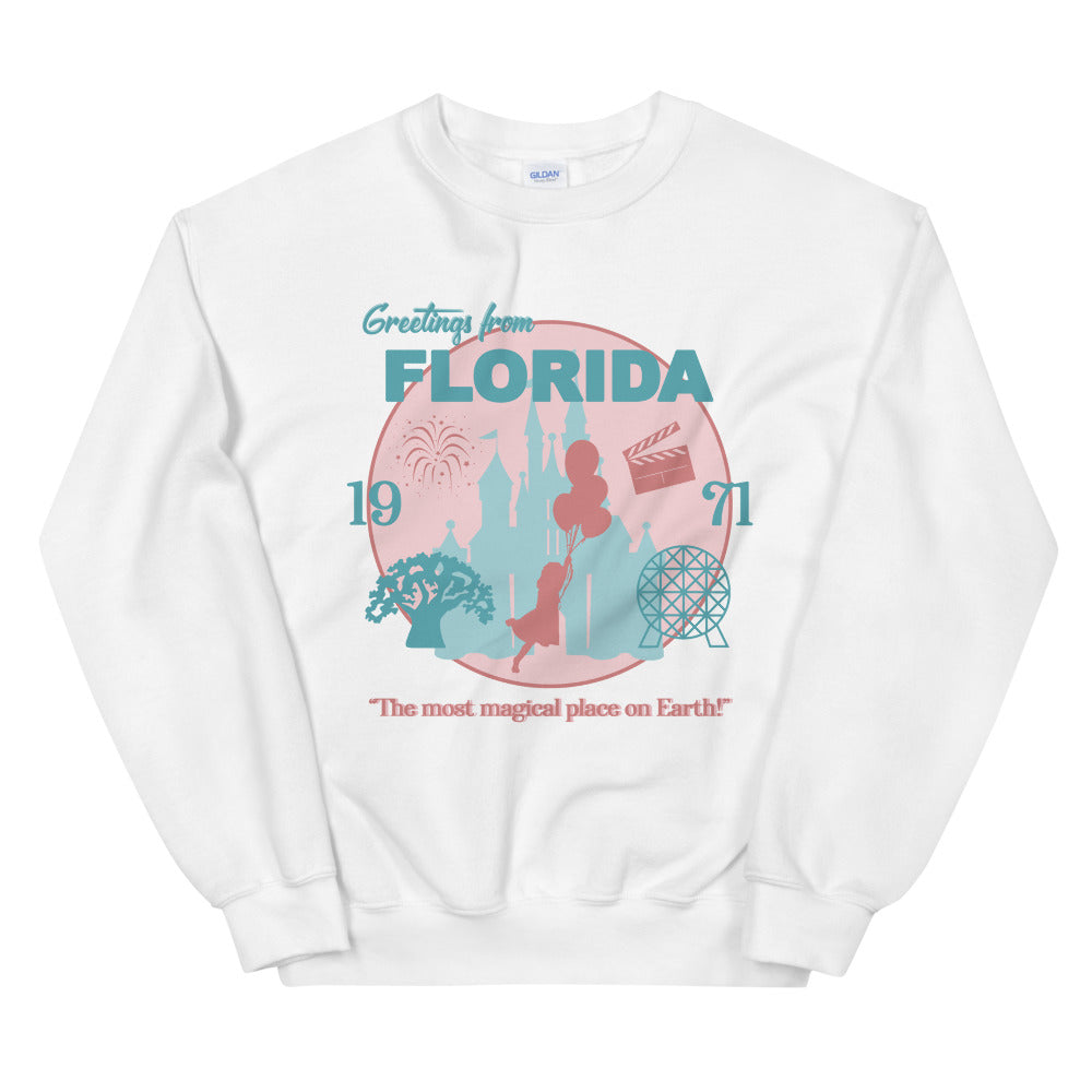 Greetings from Florida | Oversized Pullover