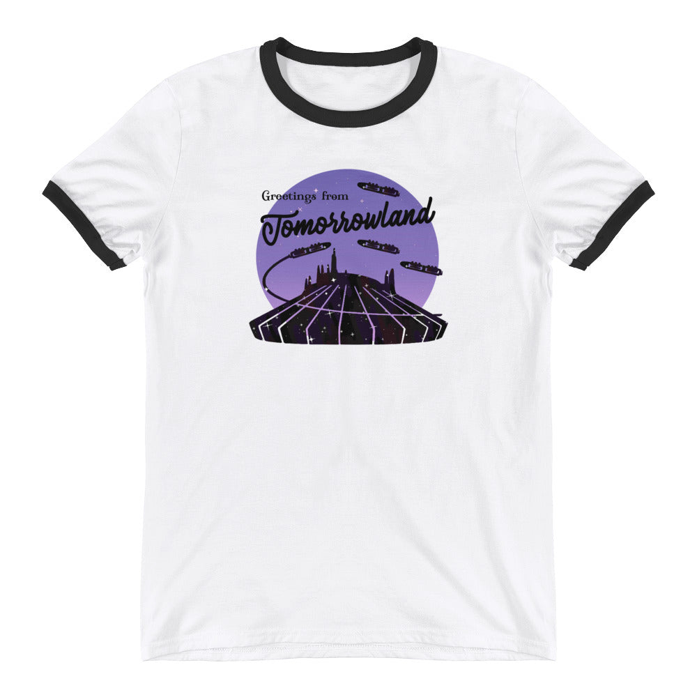 Greetings from Tomorrowland | Ringer Tee
