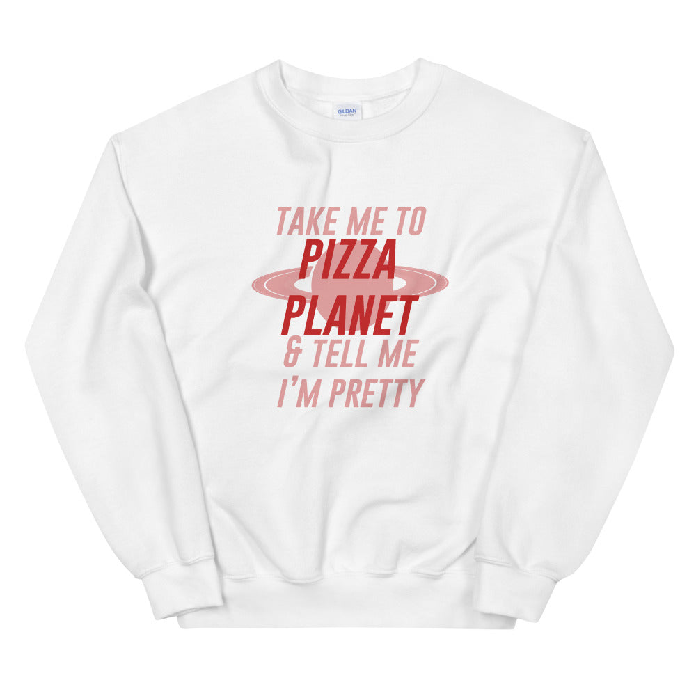 Take Me to Pizza Planet | Oversized Pullover