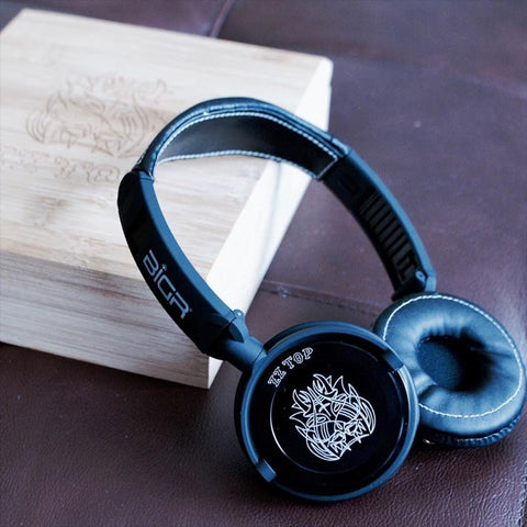 Custom ZZ Top Headphones