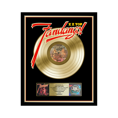 Personalized Fandango Record