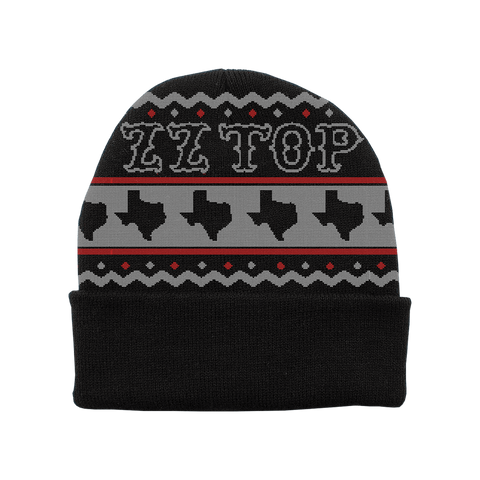 ZZ Top Holiday Beanie