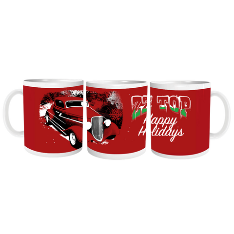 ZZ Top Holiday Mug