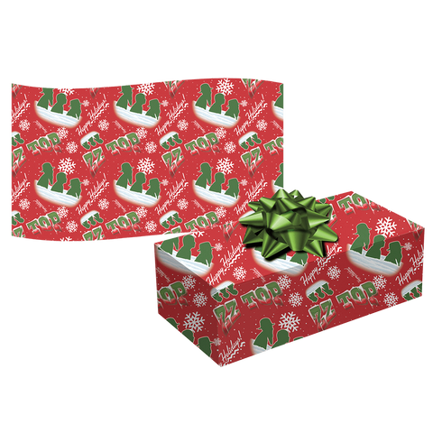 ZZ Top Wrapping Paper