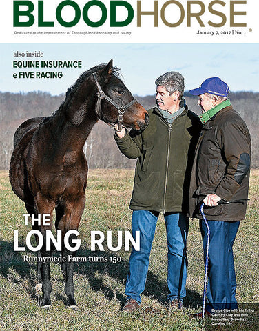 BloodHorse: January 7, 2017 print