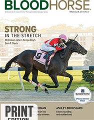 BloodHorse: February 18, 2017 print