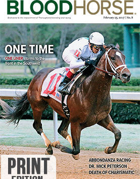 BloodHorse: February 25, 2017 print