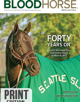 BloodHorse: March 4, 2017 print