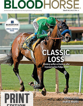 BloodHorse: March 18, 2017 print