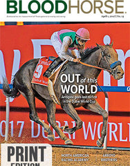 BloodHorse: April 1, 2017 print