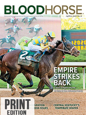 BloodHorse: April 22, 2017 print