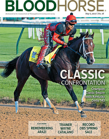 BloodHorse: May 6, 2017 print
