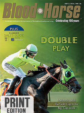Blood-Horse: July 2, 2016 print