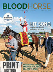 BloodHorse:    July 22, 2017 print
