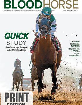 BloodHorse:    July 29, 2017 print