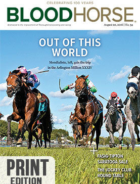 BloodHorse: August 20, 2016 print