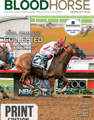 BloodHorse:  August 26, 2017 print