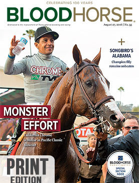 BloodHorse: August 27, 2016 print