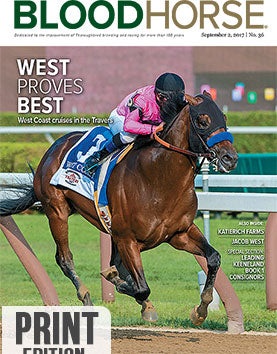 BloodHorse:  September 2, 2017 print