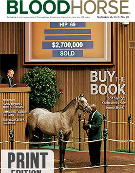 BloodHorse:  September 16, 2017 print