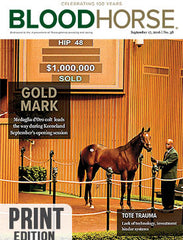 BloodHorse: September 17, 2016 print