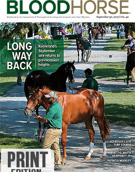 BloodHorse:  September 30, 2017 print