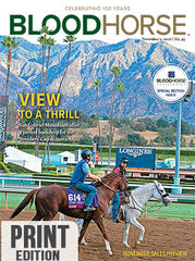 BloodHorse: November 5, 2016 print