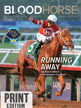 BloodHorse:  November 11, 2017 print