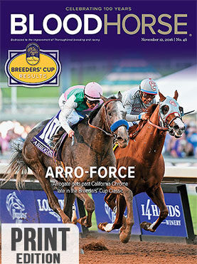 BloodHorse: November 12, 2016 print