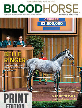 BloodHorse: November 19, 2016 print