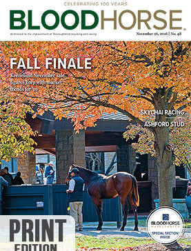 BloodHorse: November 26, 2016 print