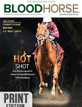 BloodHorse: December 3, 2016 print