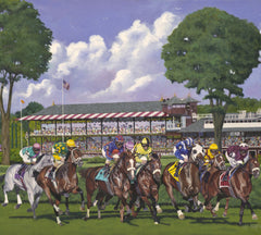 150 Years of Racing at Saratoga Springs by Nick Martinez