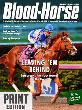 The Blood-Horse: Feb 15, 2014 Print