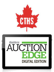 Auction Edge Digital: 2020 CTHS (Ontario) Canadian-Bred Select and Open Sale