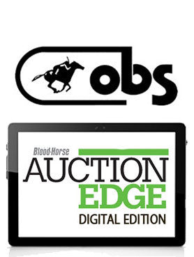 Auction Edge Digital: 2021 OBS April Spring Sale of 2YOs in Training