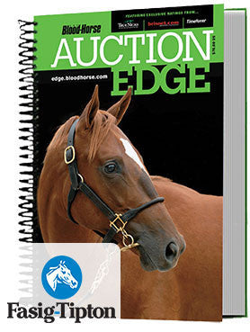 Auction Edge Print: 2017 Fasig-Tipton The Saratoga Sale & NY Bred Preferred Yearling Sale