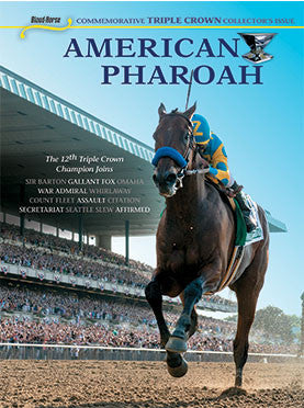 American Pharoah Commemorative Triple Crown Collector's Issue