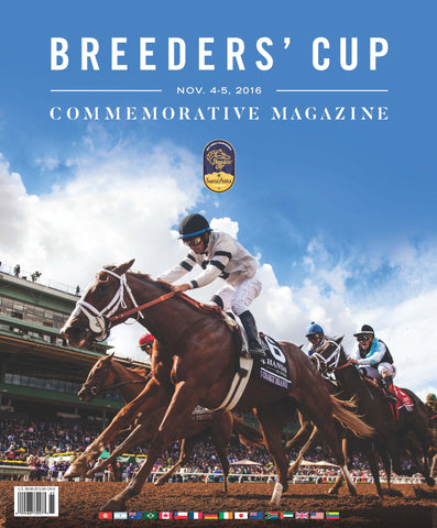 Official 2016 Breeders' Cup Commemorative Magazine