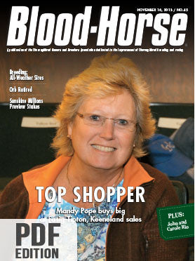 The Blood-Horse: Nov 16, 2013 PDF