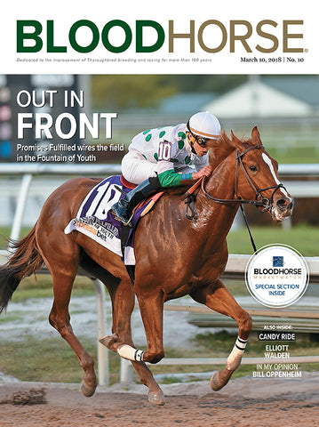 BloodHorse:  March 10, 2018 print