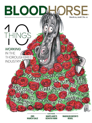 BloodHorse:  March 24, 2018 print