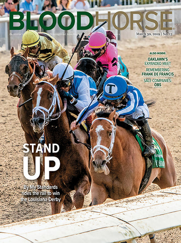 BloodHorse:  March 30, 2019 print