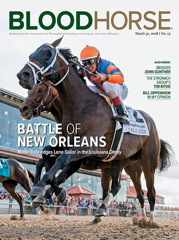 BloodHorse:  March 31, 2018 print